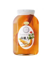 Honey-macerated ginseng with royal jelly