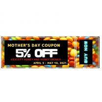 5% off coupon(Please add this to the cart as well.)
